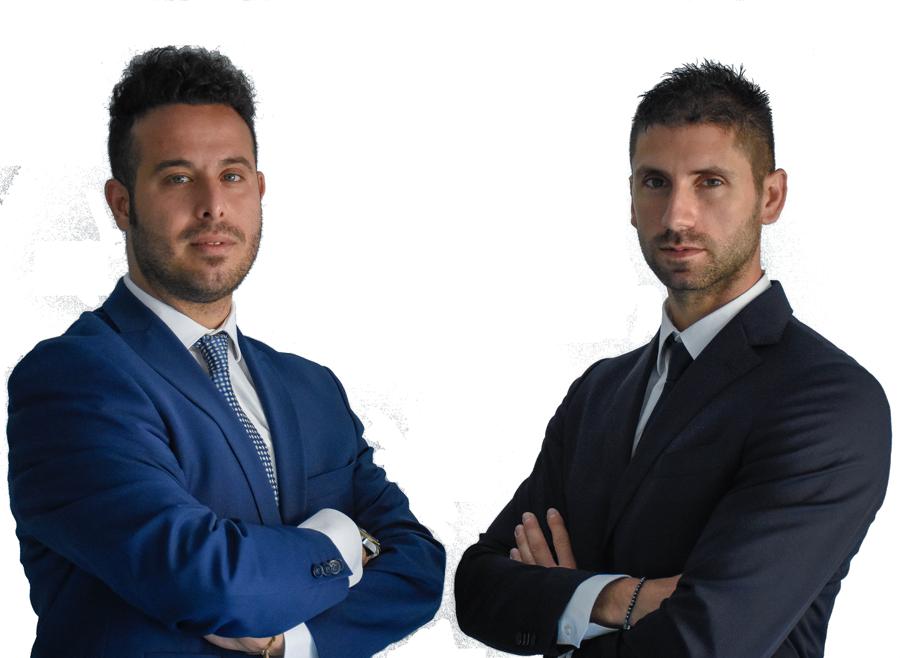 Antonio Anghelone e Fabrizio Satriani